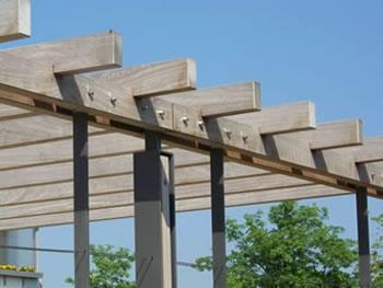 Pergolen aus Stahl und Holz - Freiraumobjekte Ney ...