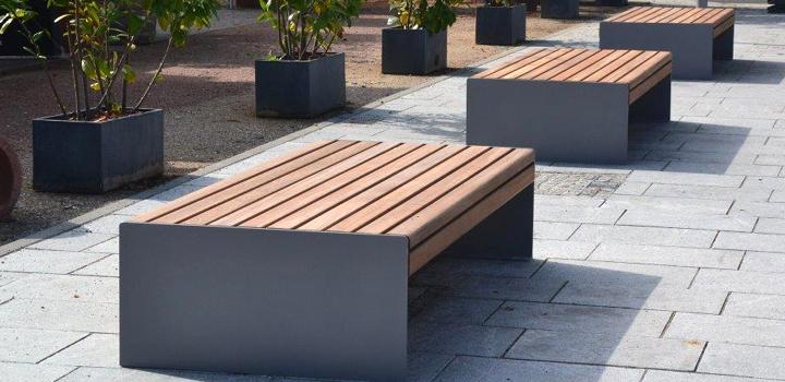 gartenmobel sitzbank mit lehne, bank bonus - bänke, sitzgruppen & liegen: gartenmöbel - freiraum, Design ideen