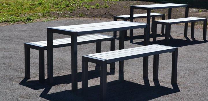 und sitzgruppe mensa - bänke, sitzgruppen & liegen: gartenmöbel,