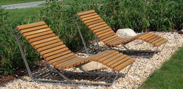 Sonnenliege   Bänke, Sitzgruppen & Liegen: Gartenmöbel   Freiraum